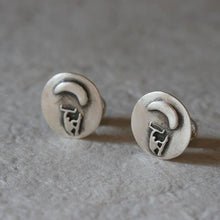 Load image into Gallery viewer, kitesurfing cufflinks Made of Sterling Silver - Zulasurfing Jewelry  - 3