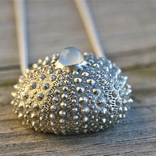 Load image into Gallery viewer, Sterling silver Sea Urchin Necklace - Zulasurfing Jewelry  - 3