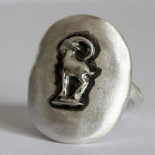 Load image into Gallery viewer, 925 Sterling Silver Capricorn Zodiac Ring - Zulasurfing Jewelry  - 1