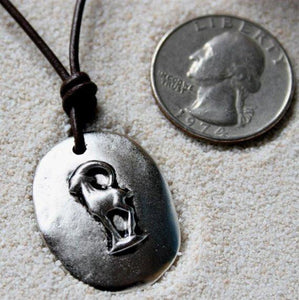 Capricorn Zodiac pendant necklace - Zulasurfing Jewelry  - 1