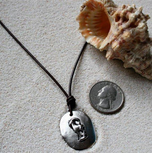 Capricorn Zodiac pendant necklace - Zulasurfing Jewelry  - 2