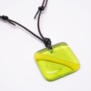Scuba Diving Jewelry Nitrox down Flag scuba gear fused Glass Pendant