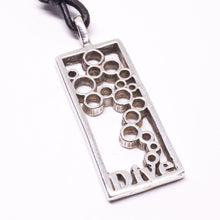 Load image into Gallery viewer, Scuba Diving Diver fins and bubbles Contemporary Design Pendant By Zulasurfing