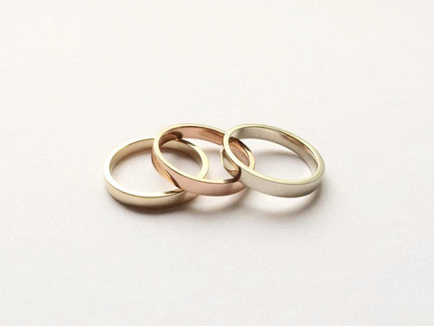 Tricolore Gold Rings