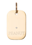 Dog Tag Diamond Bronze