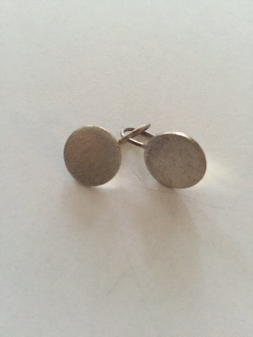 Matte Small Sterling Silver Earrings
