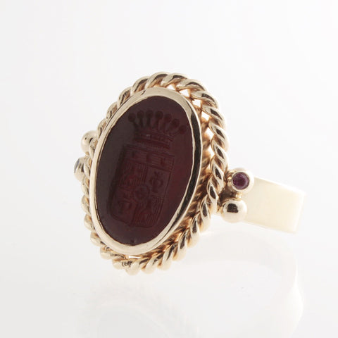 The Antique Signet Ring