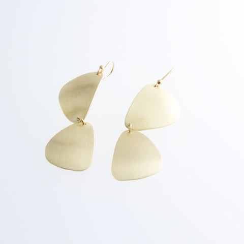 Agnes Gold Earrings