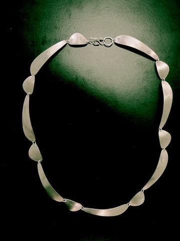 Stone 14 link Necklace