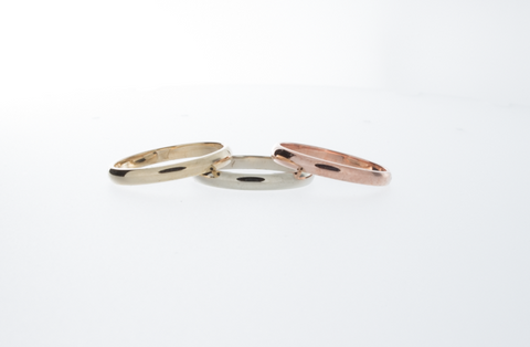 Tricolore Rose Gold Ring