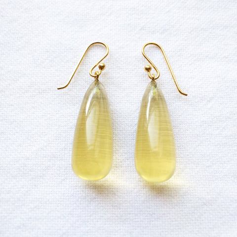 Lemon Citrine Earrings