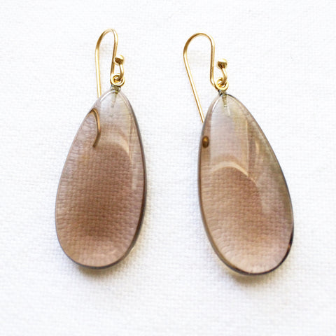 Smokey Quartz small Earrings