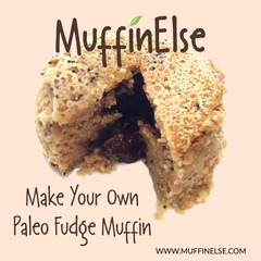 paleo fudge muffin