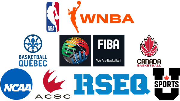 NBA WNBA Basketball Québec FIBA Canada Basketball NCAA CCAA-ACSA RSEQ U Sports