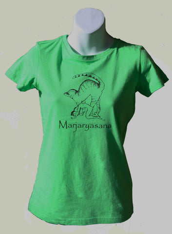 Marjaryasana Slim Fit Ladies T-shirt