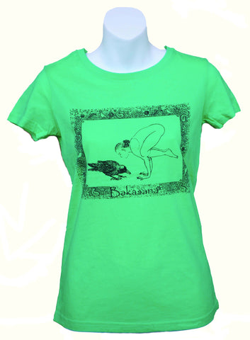 Bakasana Ladies Slim Fit T-shirt