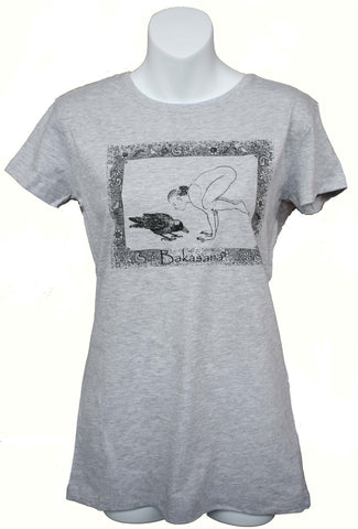 Bakasana Regular Ladies T-shirt