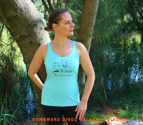Balasana Regular Style Ladies Singlet