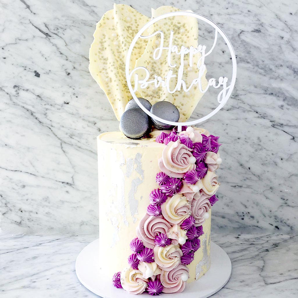 white-and-purple-cake-sydney