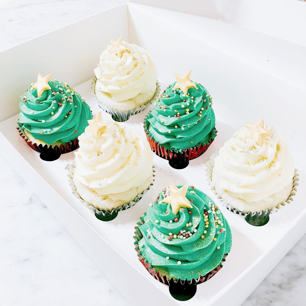 christmas-tree-cupcakes-black-velvet-sydney