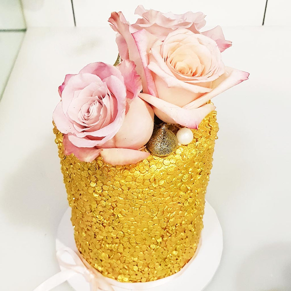 golden-flower-cake-sydney