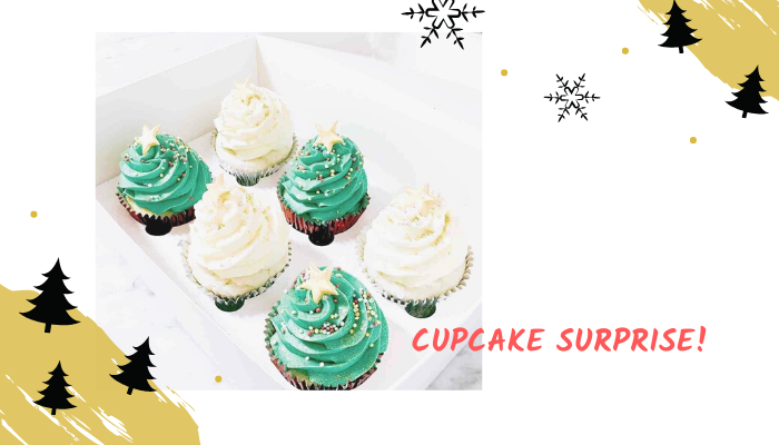 Christmas Activities Cupcake Surprise