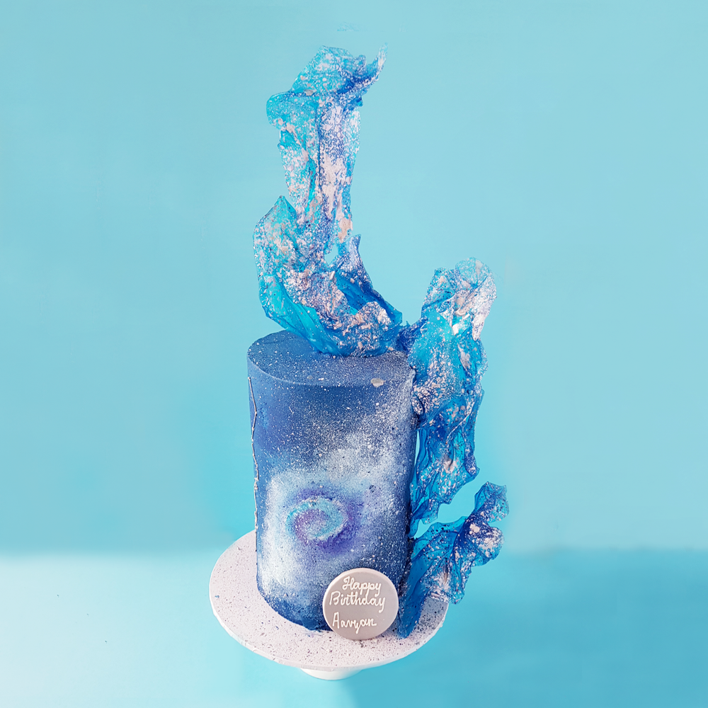 Space Galaxy Cake