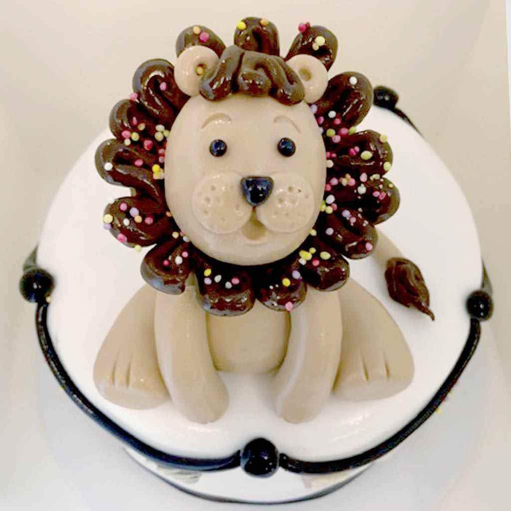 Cute Baby Lion Cake