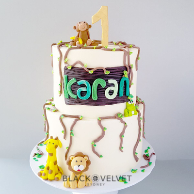 animal themed cake sydney