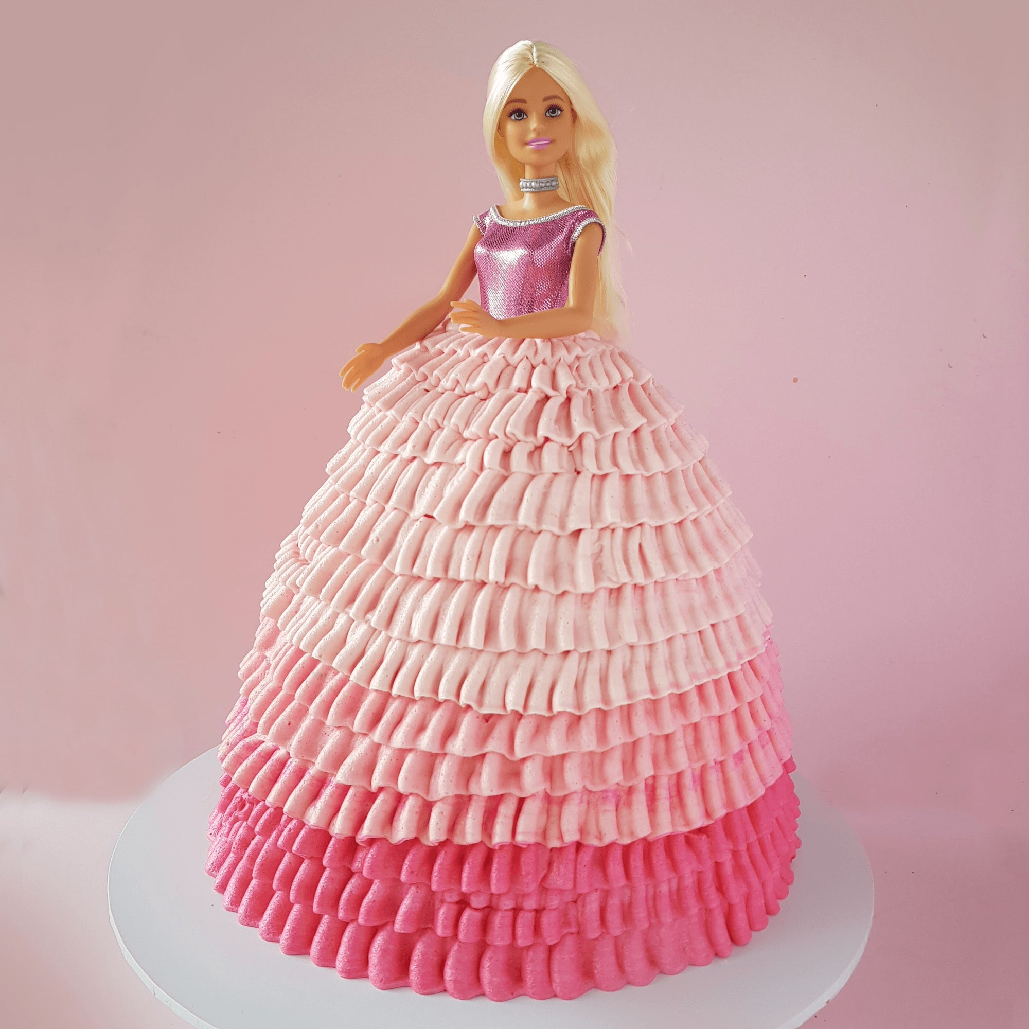 BVCLCakeR - Barbie Doll Cake