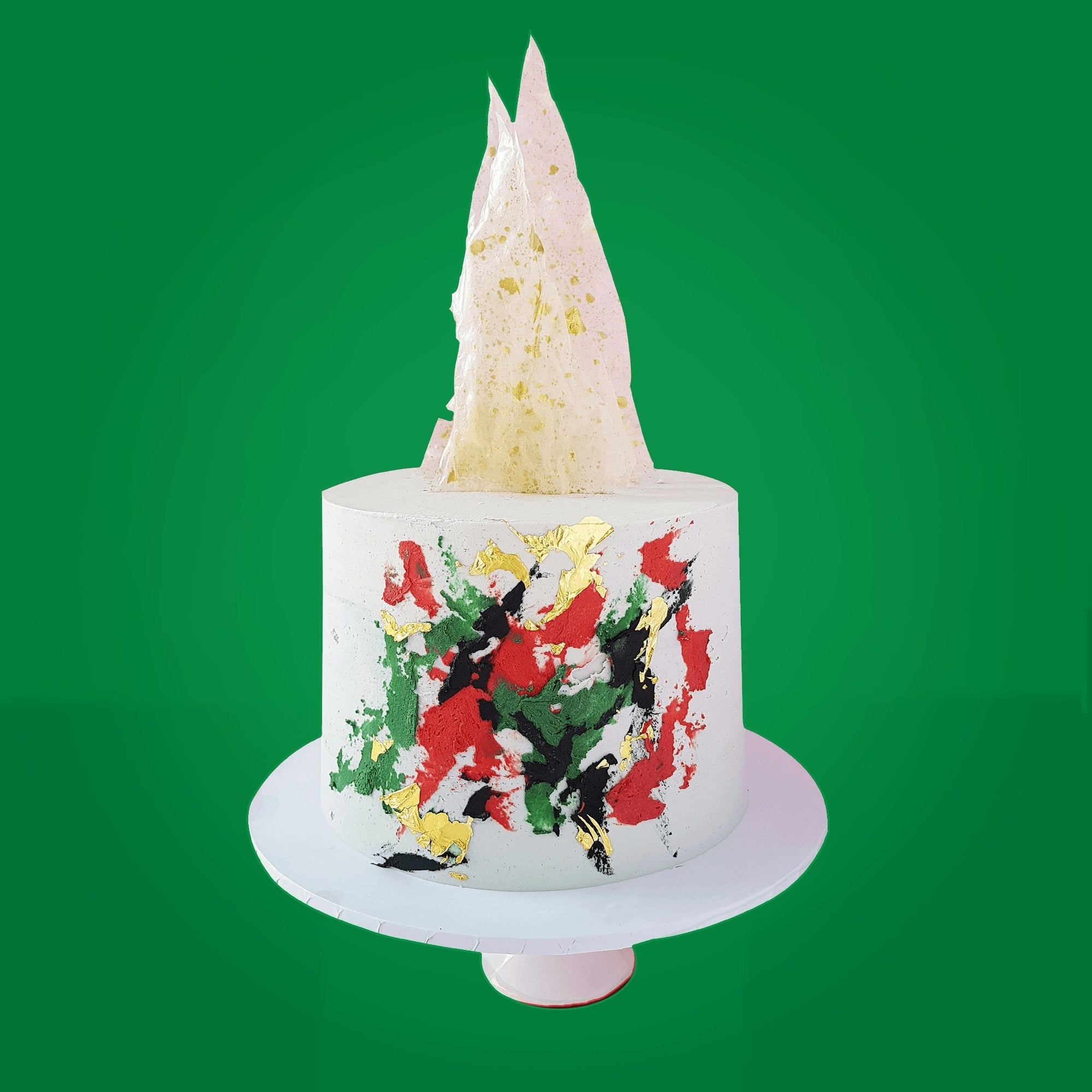 BVCLCakeR - Modern White Corporate Christmas Cake