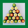 GLUTEN FREE Christmas Tree Mini Cup Cakes (24)