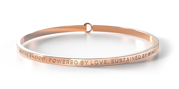 ** 1 Gold Left ** Motherhood: Powered By Love, Sustained By Wine