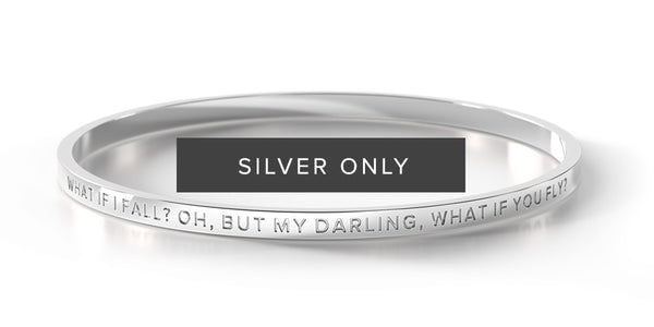 What if I Fall? Oh, But My Darling, What If You Fly? (Silver - Regular Only)