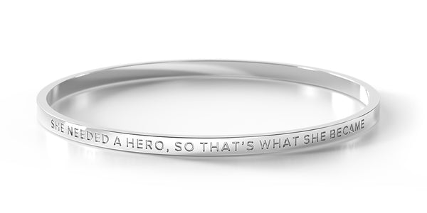 ** 1 Large Left ** She Needed A Hero, So That's What She Became
