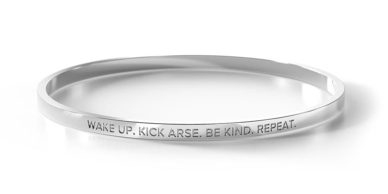 ** COMING SOON ** Wake Up. Kick Arse. Be Kind. Repeat.