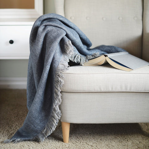 Linen Throw Cloud