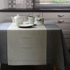 Table Runner with hem-stitch
