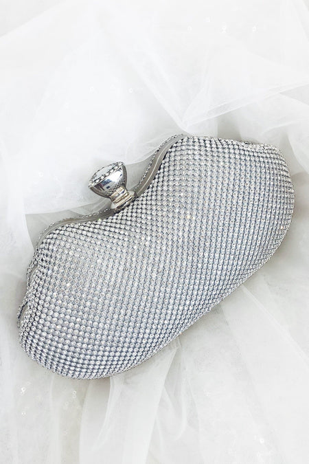 Glazori Statement Diamond Clutch - Multiple Colours