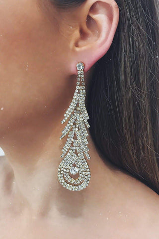 Glazori Saina Gold Drop Earrings