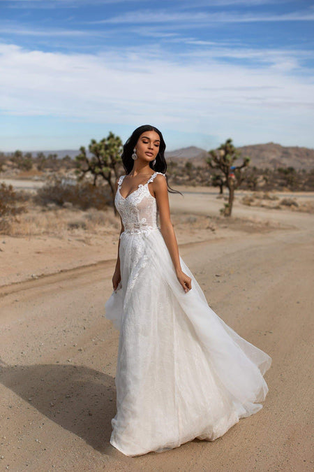 A&N Luxe Sharline Gown