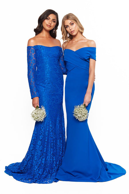 A&N Luxe Sierra Gown - Royal Blue