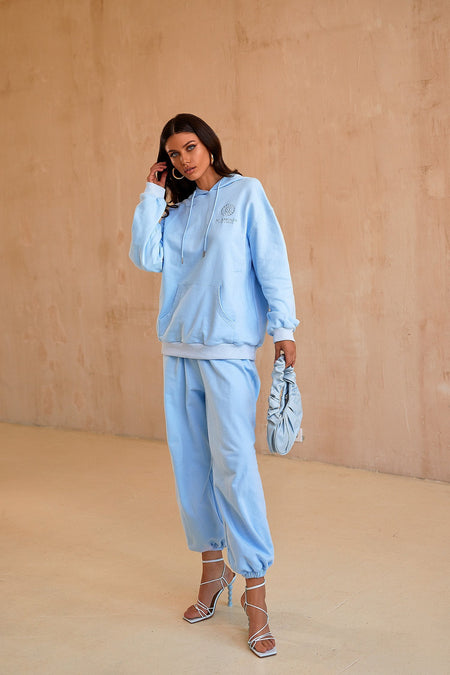 Kylie Oversized Sweatshirt - Blue