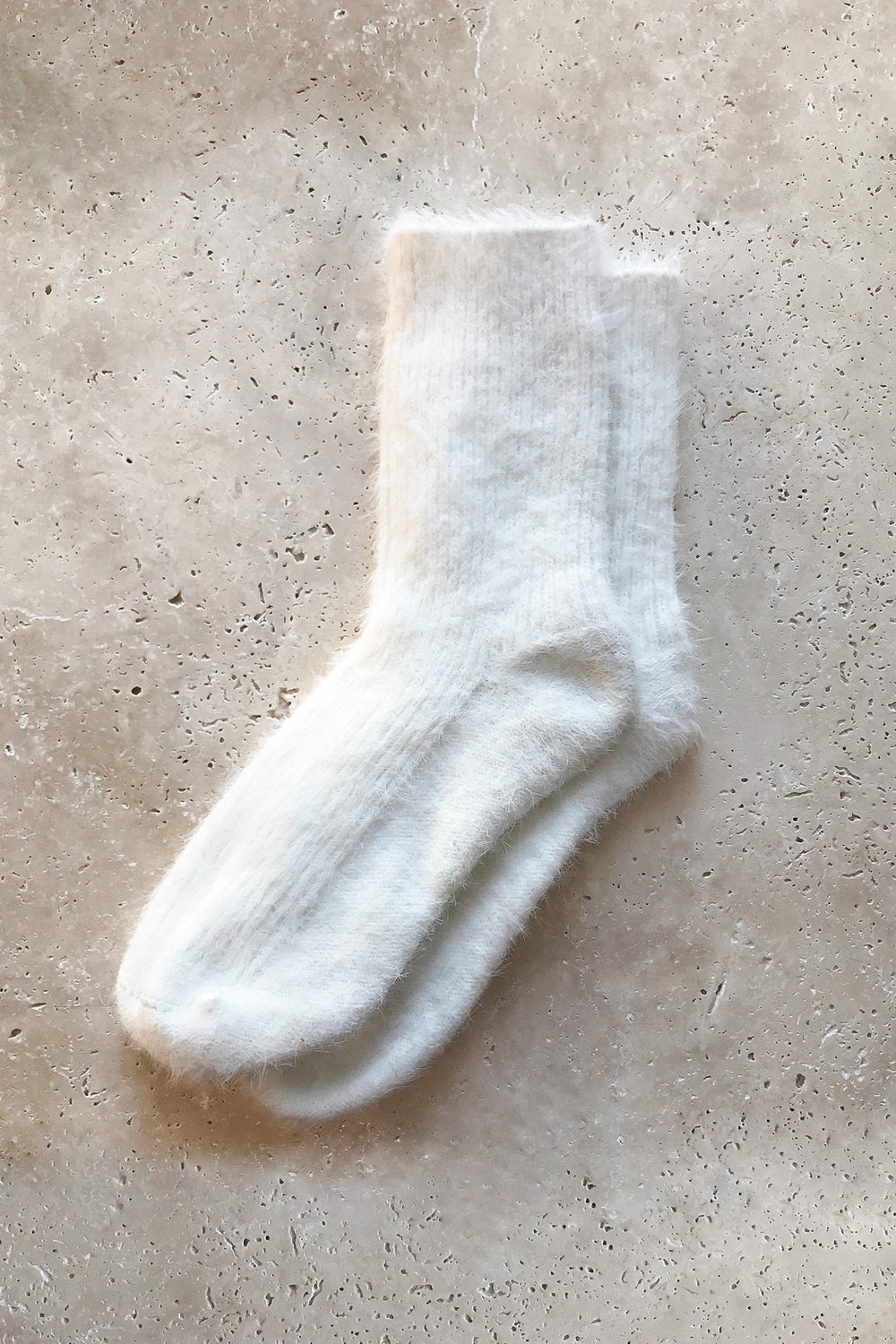 Fluffy Socks - White