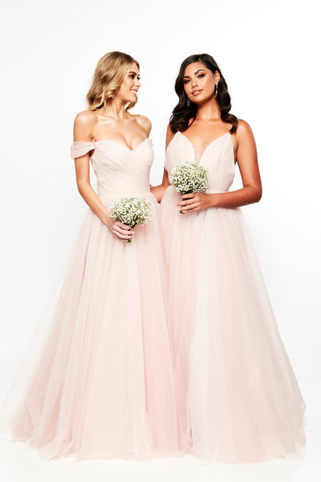A&N Luxe Marinela Tulle Gown
