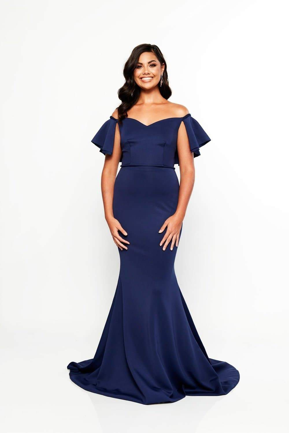 A&N Luxe Evie Gown - Navy