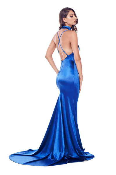Amina Gown - Royal Blue