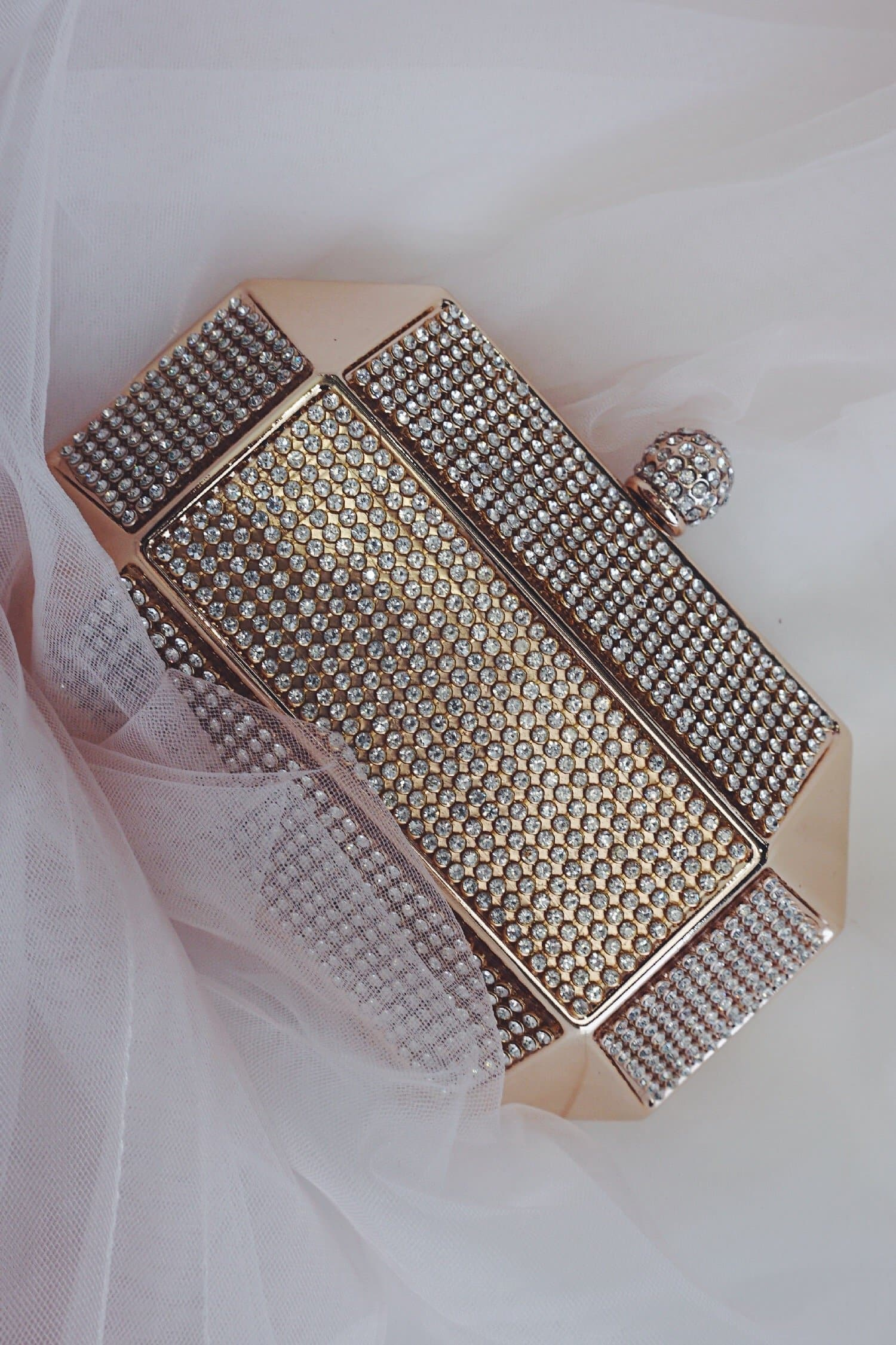 Glazori Prism Diamond Clutch - Multiple Colours