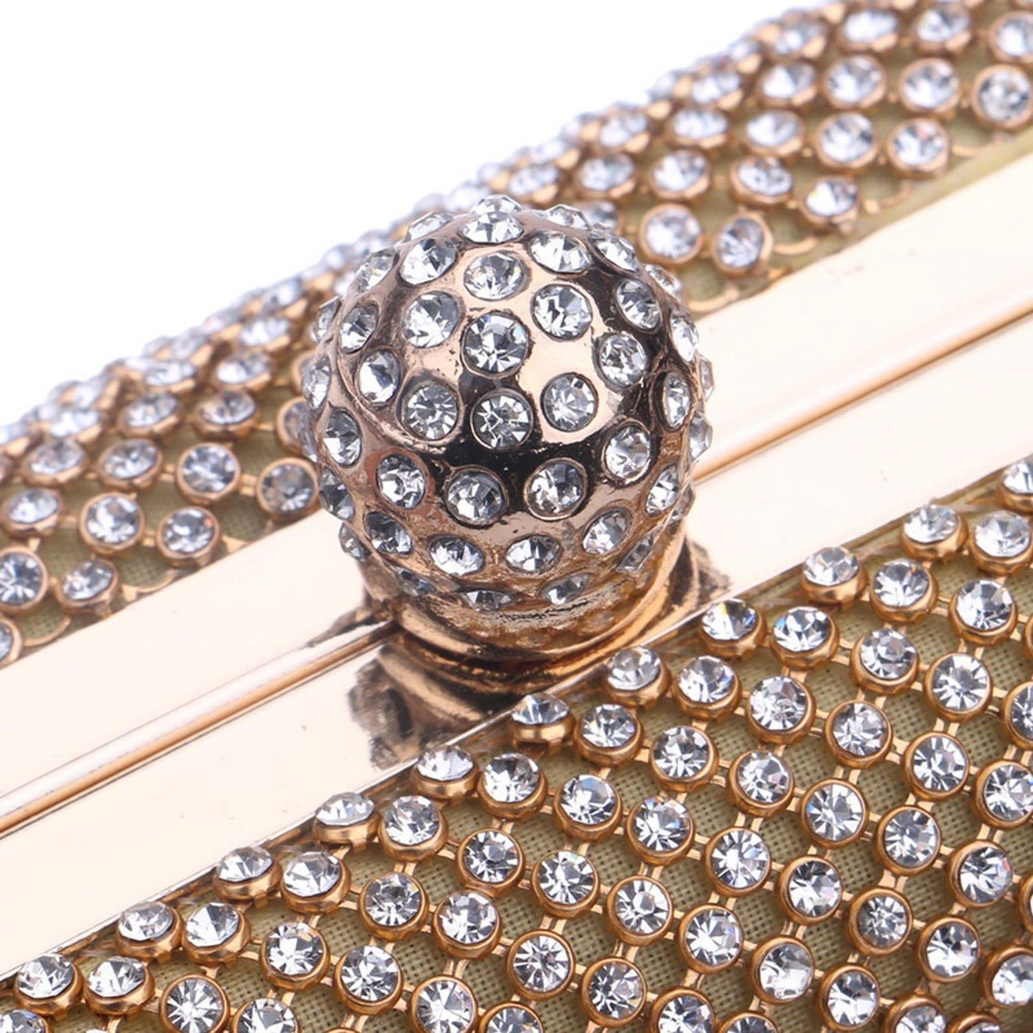 Glazori Crystal Detail Clutch