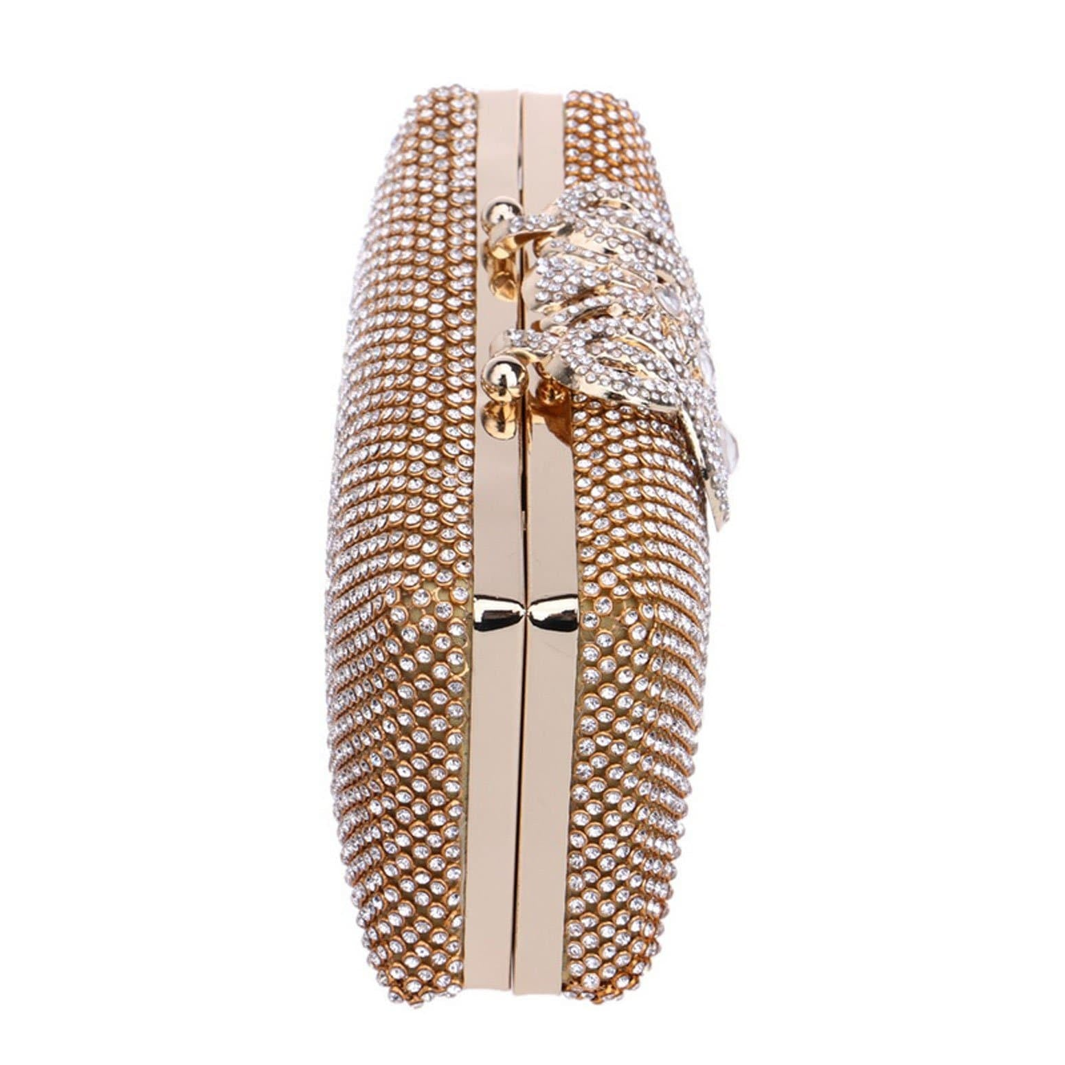 Glazori Crystal Statement Clutch- Multiple Colours